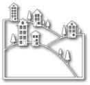 Memory Box Poppystamp Die - Brevilla Hillside