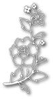 Memory Box Die - Sketch Rose Branch