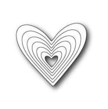 Poppystamps Die - Heart Frames