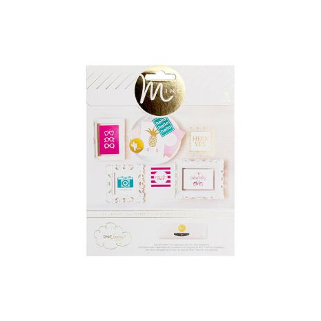 Heidi Swapp Minc Assorted Prints 10/Pkg - Dear Lizzy Happy Place UTGÅENDE