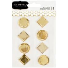 Pebbles Everyday Metal Clips - Gold UTGÅENDE