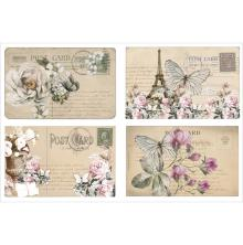 FabScraps FabScraps Vintage Elegance Stickers - Postcards