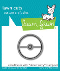 Lawn Fawn Custom Craft Die - Donut Worry