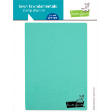Lawn Fawn Stamp Shammy 5X7 - Stamp Cleaner