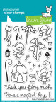 Lawn Fawn Clear Stamps 4X6 - Fairy Friends
