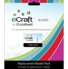eCraft Replacement Blades 10/Pkg UTGÅENDE