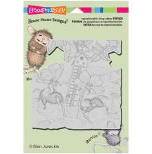 Stampendous House Mouse Cling Stamp 4.5X5.5 - Staying Cool
