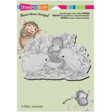 Stampendous House Mouse Cling Stamp 4.5X5.5 - Sharing Seed