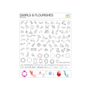 eCraft Swirls & Flourishes SD Image Card by Craftwell UTGÅENDE