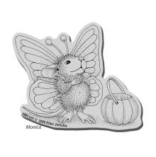 Stampendous House Mouse Cling Stamp 3.5X4 - Monica Flutter