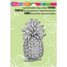 Stampendous Cling Stamp 6.5X4.5 - Tropical Pineapple