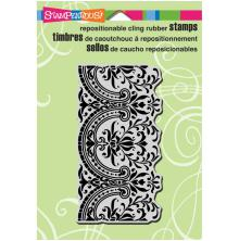 Stampendous Cling Stamp 6.5X4.5 - Decorative Border