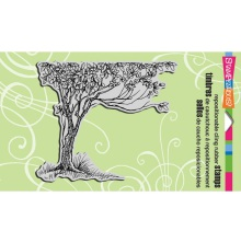Stampendous Cling Stamp 7.75X4.5 - Growing Tree