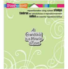 Stampendous Perfectly Clear Stamps 3.5X4 - Grandchild Love
