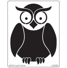 Dreamweaver Stencils LL - Owl Buddy UTGÅENDE