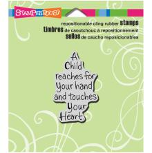 Stampendous Perfectly Clear Stamps 3.5X4 - Child Reaches
