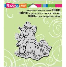 Stampendous Perfectly Clear Stamps 3.5X4 - Garden Gift