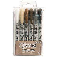 Tim Holtz Distress Crayon Set - Set #3