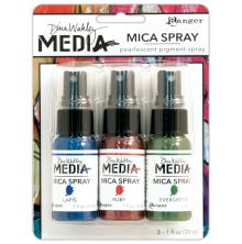 Dina Wakley Mica Sprays 29ml x 3/Pkg