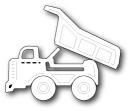 Memory Box Poppystamp Die - Mighty Dump Truck