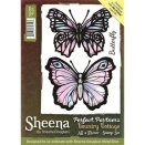 Sheena Douglass Country Cottage Stamp - All a Flutter