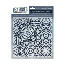 Crafters Companion Textures Elements 8x8 Embossing Folder - Frosted Ice