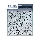 Crafters Companion Textures Elements 8x8 Embossing Folder - Rain