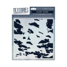Crafters Companion Textures Elements 8x8 Embossing Folder - Clouds