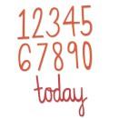 Sizzix Thinlits Die Set 11PK - Birthday Numbers