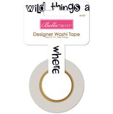 Bella Blvd Washi Tape - Wild Things UTGÅENDE