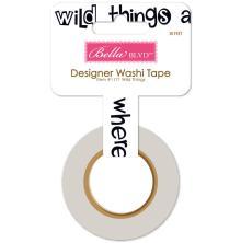 Bella Blvd Washi Tape - Wild Things UTGÅENDE