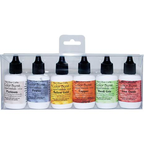 Ken Oliver Color Burst Liquid Metal Assortment - Heavy Metals