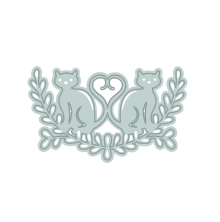 Tonic Studios Rococo Pampered Pets Die Set - Love Cats