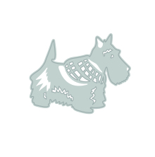 Tonic Studios Rococo Pampered Pets Die Set - Scotty Dog