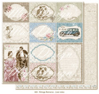 Maja Design Vintage Romance 12X12 - Love notes