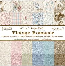 Maja Design Vintage Romance 6X6 Paper Stack