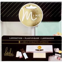 Heidi Swapp Minc Lamination Labels 3.5X2.5 8/Pkg - Color UTGÅENDE
