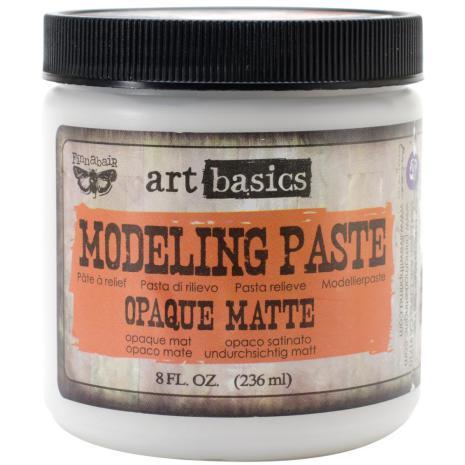 Prima  Finnabair Art Basics Modeling Paste 236ml - Opaque Matte