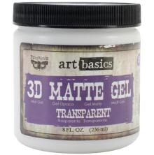 Prima  Finnabair Art Basics 3D Matte Gel 236ml - Transparent