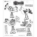 Ranger Ink Dyan Reaveley Dylusions Cling Stamp - Put A Bird On It