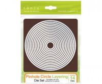 Tonic Studios Pinhole Layering Circle Die Set - 524E