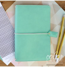 Websters Pages Travelers Notebook Planner - Mint UTGÅENDE