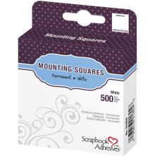 Scrapbook Adhesives 3L Permanent Mounting Squares 500/Pkg