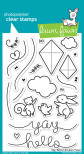 Lawn Fawn Clear Stamps 4X6 - Yay, Kites!