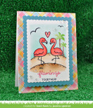 Lawn Fawn Clear Stamps 3X4 - Flamingo Together