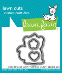 Lawn Fawn Custom Craft Die - Stinkin Cute