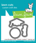 Lawn Fawn Custom Craft Die - Smart Cookie