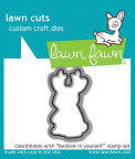 Lawn Fawn Custom Craft Die - Believe In Yourself