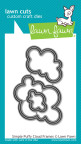Lawn Fawn Custom Craft Die - Simple Puffy Cloud Frames