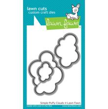 Lawn Fawn Custom Craft Die - Simple Puffy Clouds